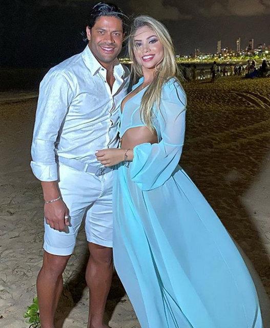 Futbolcu Hulk eski eşinin yeğeniyle evlendi - Magazin haberleri