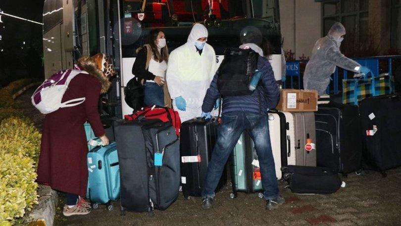 Yurt dışından yeni dönen vatandaşlara iki ilde karantina