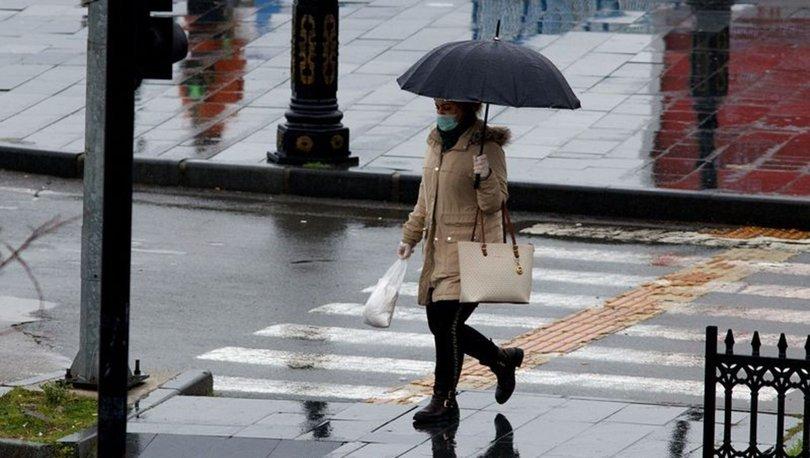 DİKKAT! Meteoroloji'den son dakika hava durumu uyarısı! Sağanak var! - Haber