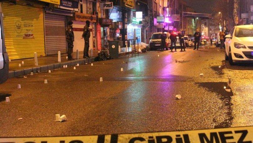 Kağıthane'de silahlı saldırganlar bekçilerle çatıştı: 3 yaralı