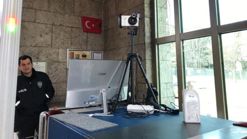 Son dakika! TBMM'de koronavirüse karşı termal kamera uygulamasına başlandı