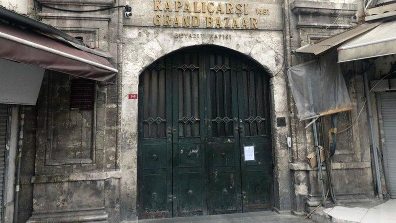 Kapalıçarşı ziyaretçi girişine kapatıldı