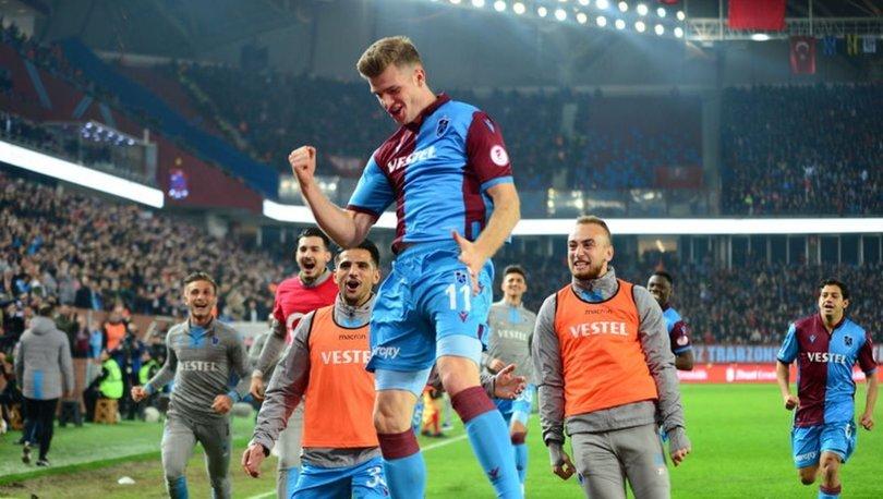 Trabzonspor Akyazı'da fırtına estirdi