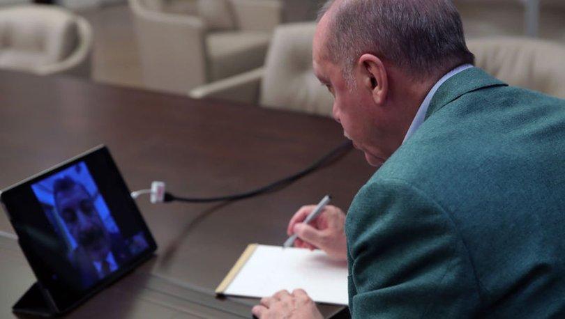 Son dakika haberi Cumhurbaşkanı Erdoğan'dan koronavirüs mesajı