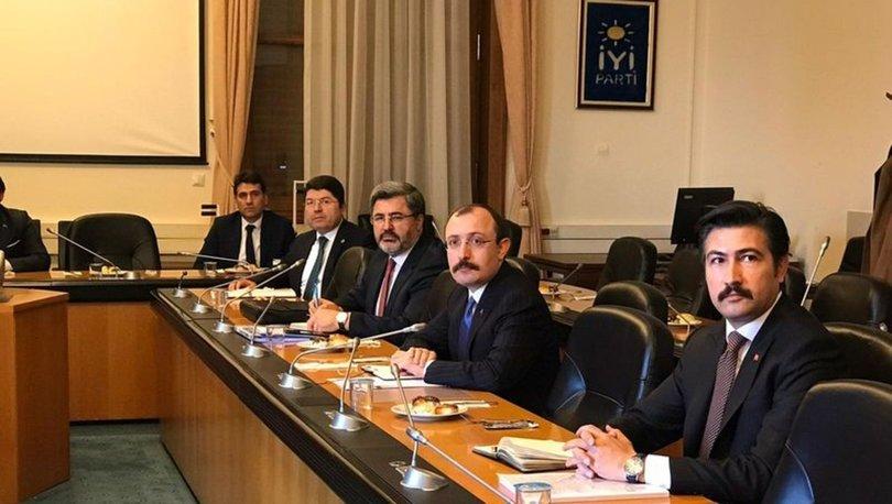 AK Partiden siyasi partilere infaz düzenlemesi ziyareti