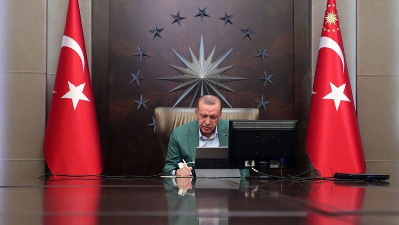 Cumhurbaşkanı Erdoğan'dan Fatih Terim ve Albayrak'a geçmiş olsun dileği