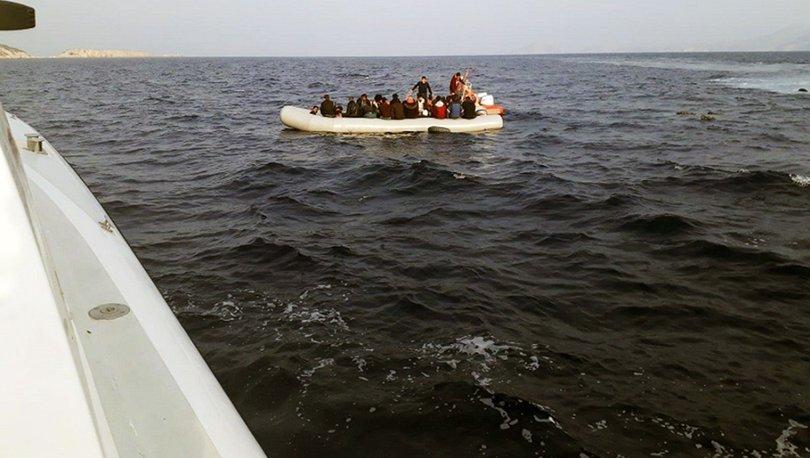Son dakika haberler... Datça açıklarında yardım isteyen 31 sığınmacı kurtarıldı!