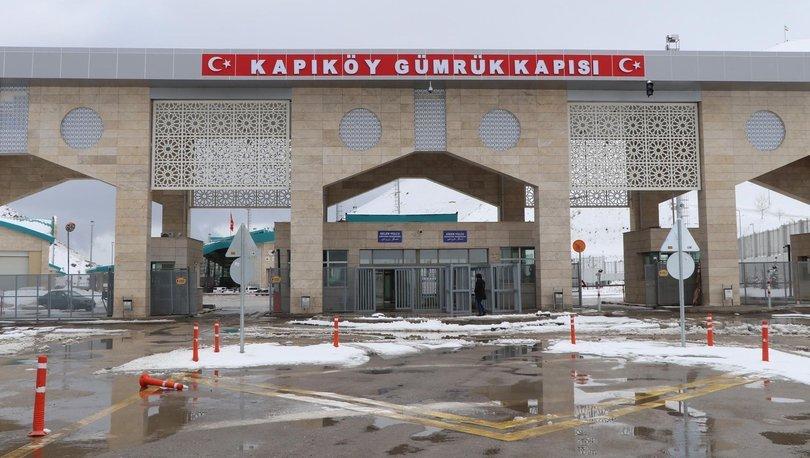 Son dakika haberler... Kapıköy Gümrük Kapısı'ndaki yolcu giriş ve çıkışları geçici süreyle durduruldu!