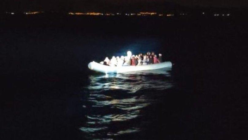 Kuşadası'nda Yunan askerlerinin geri ittiği 53 sığınmacı kurtarıldı