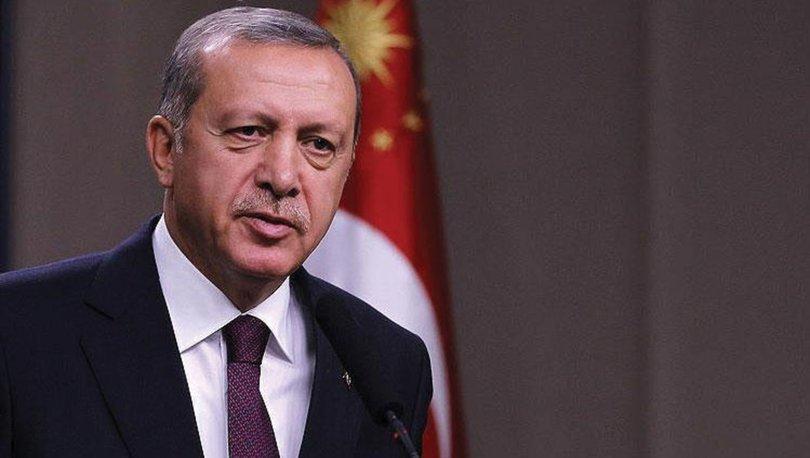 SON DAKİKA HABERİ! Cumhurbaşkanı Erdoğandan