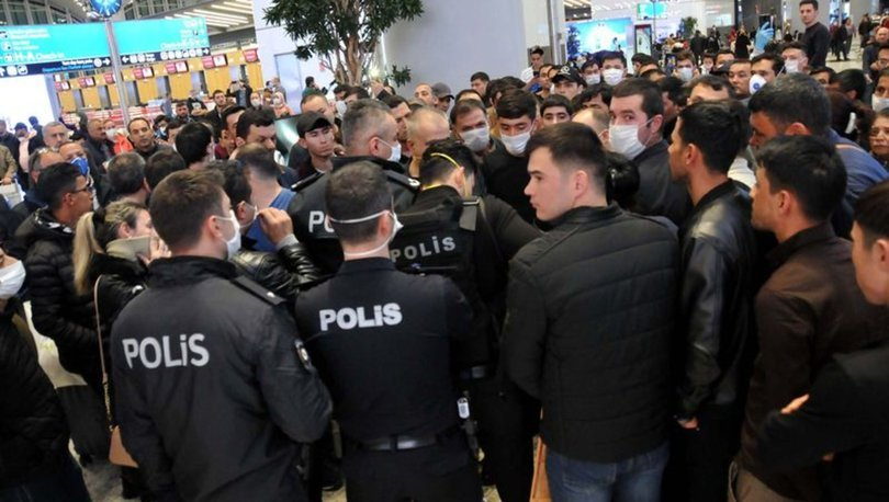İstanbul Havalimanı'ndaki Cezayirlilerle ilgili açıklama
