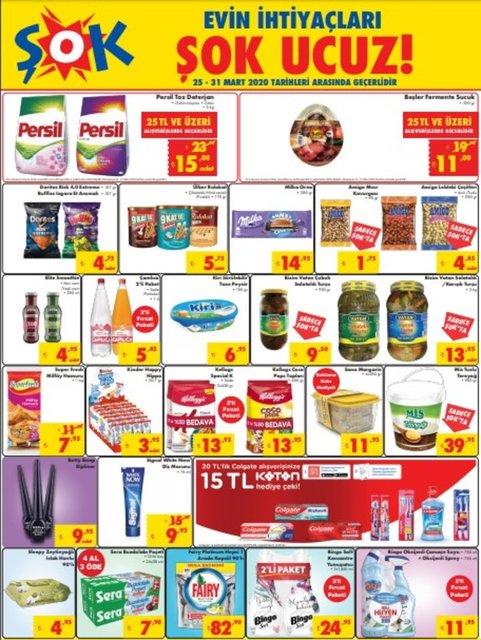 ŞOK 25-31 Mart Aktüel ürünler kataloğu 2020! ŞOK'da bu hafta kampanyalı indirimli ürünler var