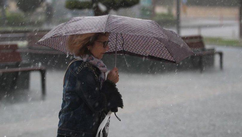 SAĞANAĞA DEVAM! Meteoroloji'den son dakika hava durumu uyarısı! Sağanak sürüyor