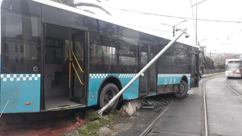 Son dakika haberi! İstanbul'da otobüs tramvay yoluna girdi