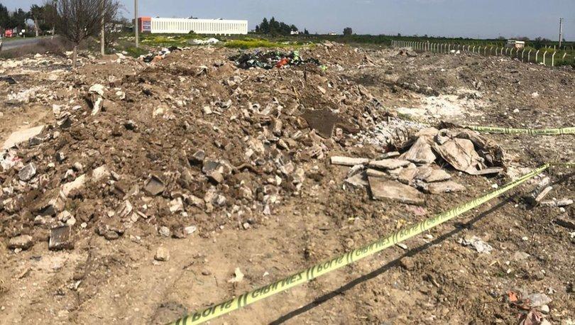 Son dakika haber... Hafriyat sahasında insan kemikleri bulundu!