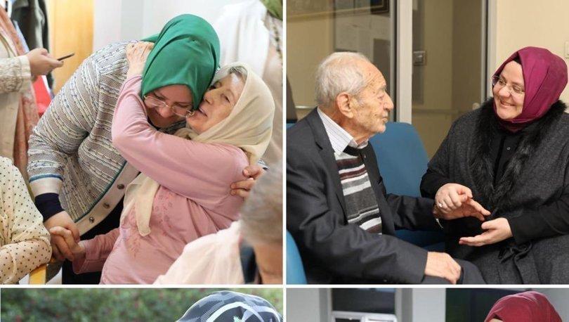 Bakan Selçuk'tan yaşlılar için mesaj