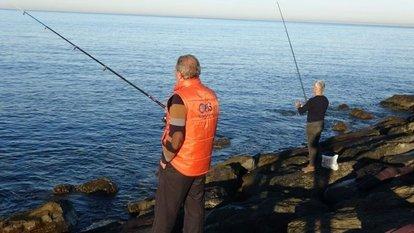 Üsküdar sahilinde balık tutmak geçici olarak yasaklandı