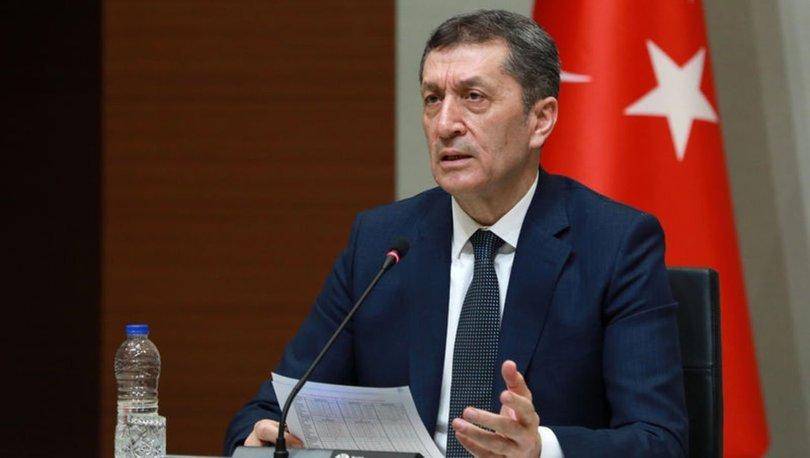 SON DAKİKA HABERİ! Milli Eğitim Bakanı Ziya Selçuk'tan son dakika açıklaması!