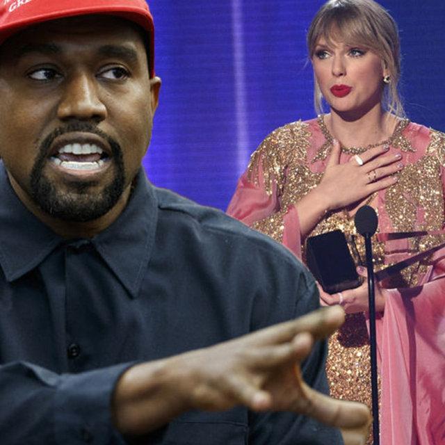 Taylor Swift ile Kanye West'in ses kaydı sızdırıldı - Magazin haberleri