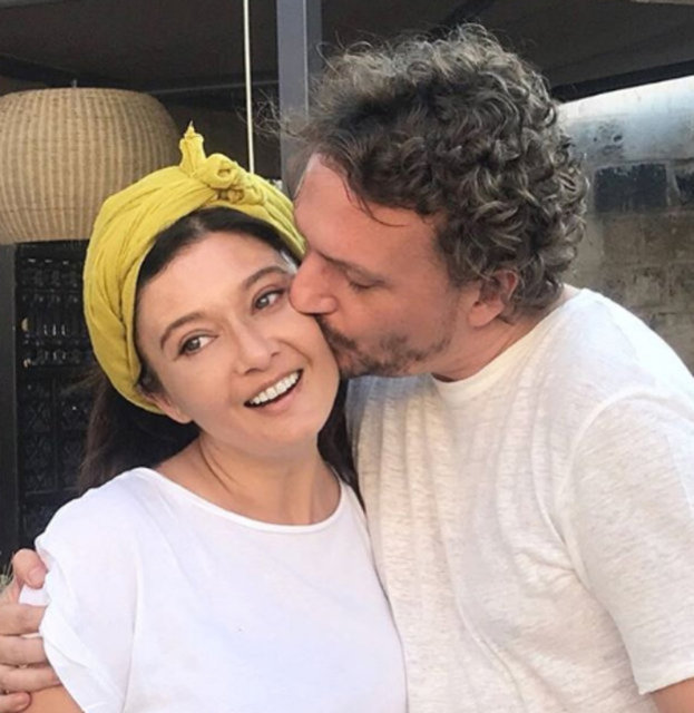 Necati Kocabay'dan Nurgül Yeşilçay'a romantik kutlama - Magazin haberleri
