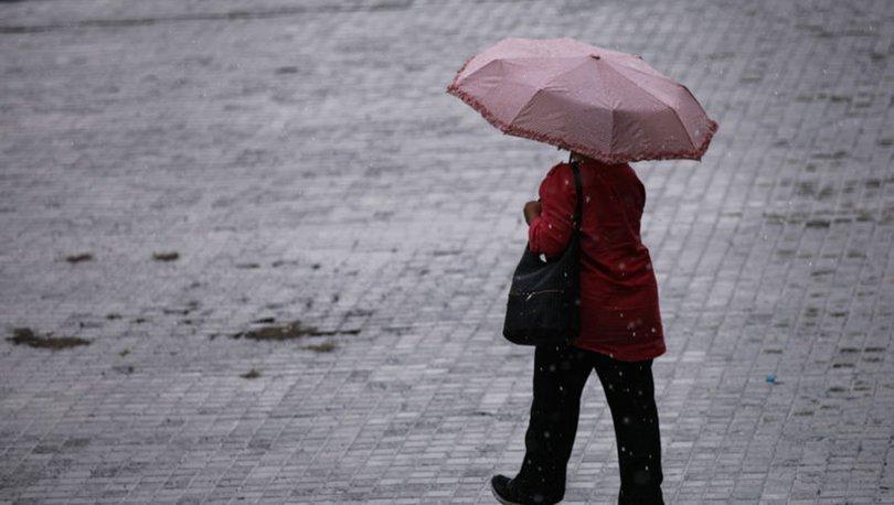Meteoroloji'den son dakika hava durumu uyarısı! Sağanak ve soğuk hava etkili oluyor