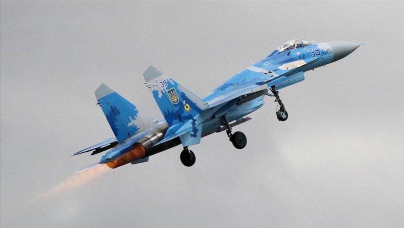 Rus savaş uçağı Karadeniz'de düştü!