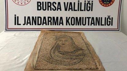 Bursa'da tarihi eser operasyonunda 5 şüpheli yakalandı