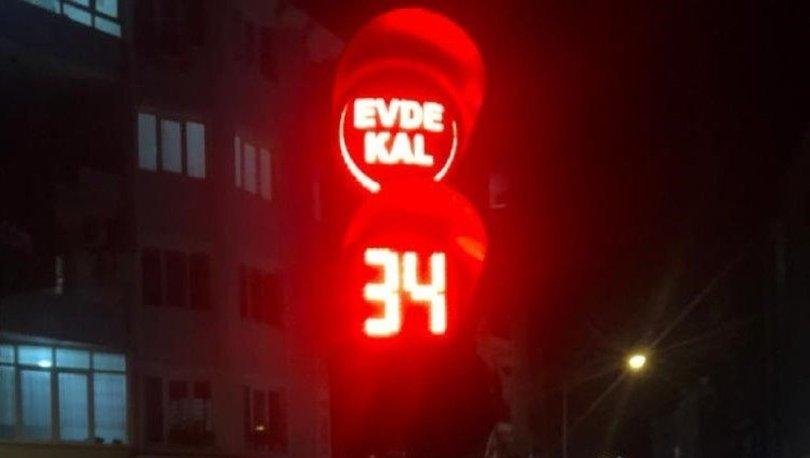 Kırklareli'nde trafik ışıklarıyla