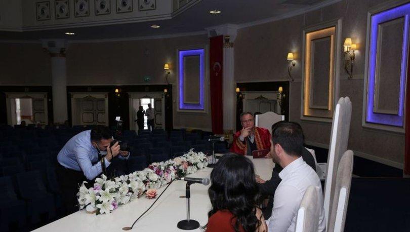 Son dakika haber! Nikah törenlerinde koronavirüs tedbirleri: Evde ya da online