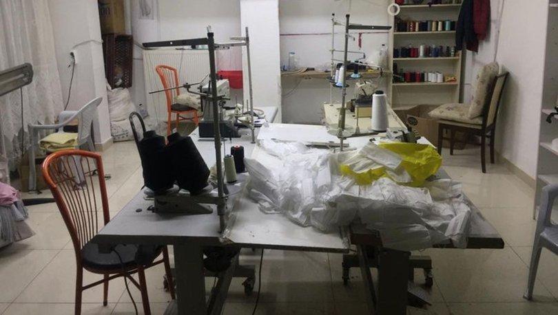 Koronavirüs son dakika... Kaçak maske üretenler! İşyeri mühürlendi! - Haberler
