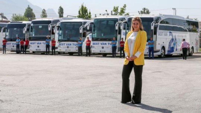 Van'daki şehirlerarası otobüs firmaları örnek bir dayanışma sergiledi