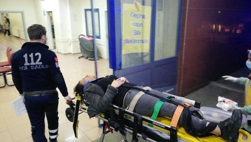 Uyuşturucu zanlısı kadını kaçıranlar akarsuya düştü