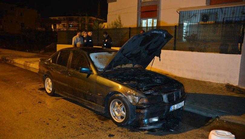 Otomobili kundakladı, ardından sahibinin evine ateş açtı