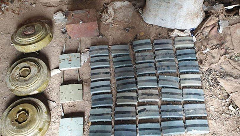 MSB: Barış Pınarı bölgesinde 41 mayın ve 5 kilo paylayıcı imha edildi