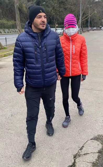 Ebru Şallı-Uğur Akkuş çifti: Malum durumlardan dolayı konuşmayalım - Magazin haberleri