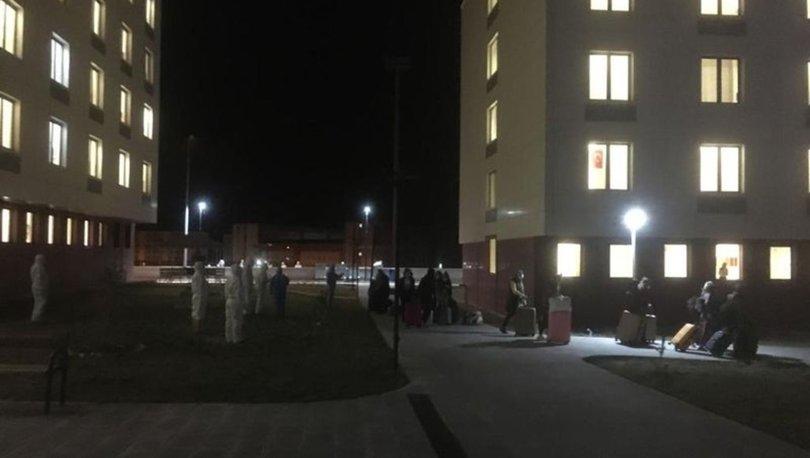 KKTC'den getirilen 450 kişiye Niğde'de karantina önlemi