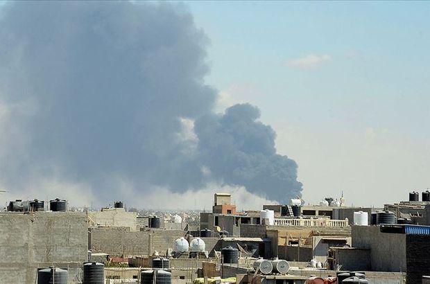 Sirte'de Hafter'in operasyon merkezine hava saldırısı!