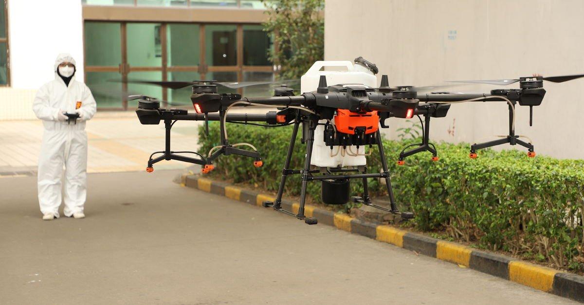 Drone'larla Covid-19 mücadelesinin 4 yolu