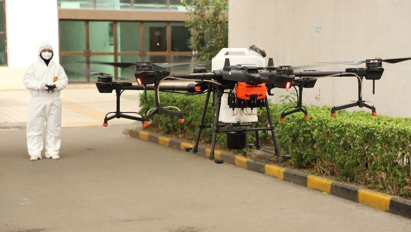 Koronavirüs ile mücadele için drone'lar devrede! Haberler