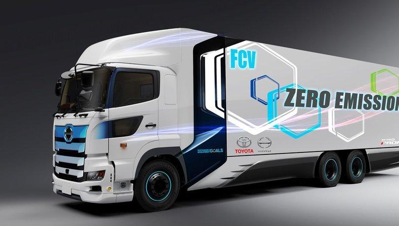Toyota ve Hino elektrikli ağır ticari araç geliştiriyor - haberler