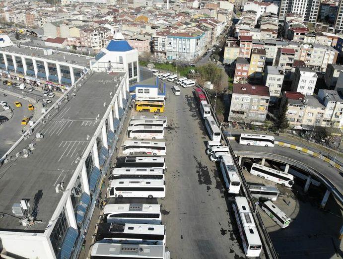 Son dakika otobüs seferleri durdu! Otobüs seferleri 17.00'den ...