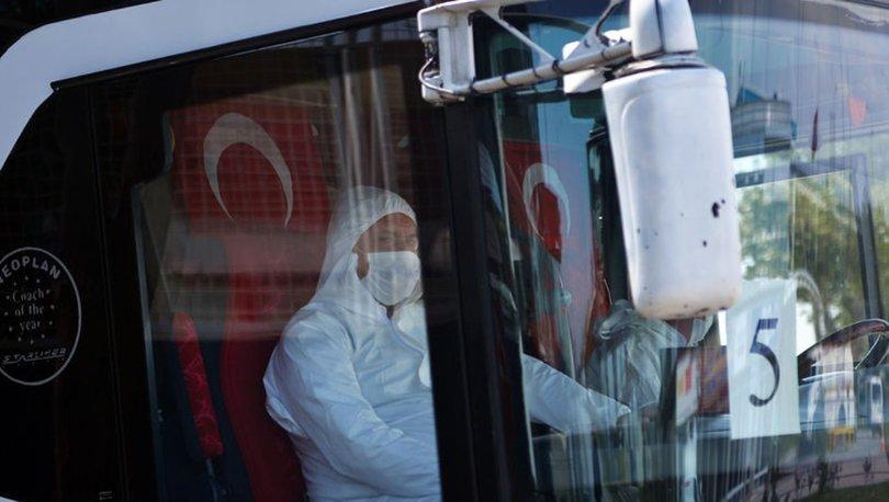 KKTC'den 141 kişi Karaman'da karantinaya alındı