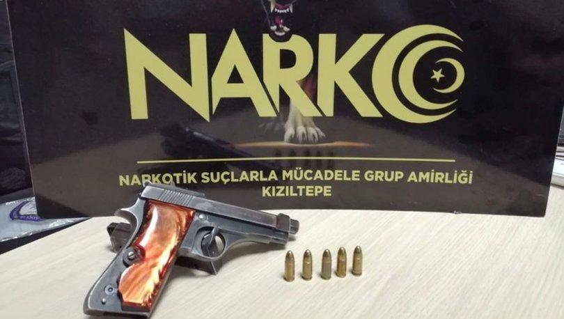 Mardin'de firari hükümlü, ruhsatsız tabancayla yakalandı