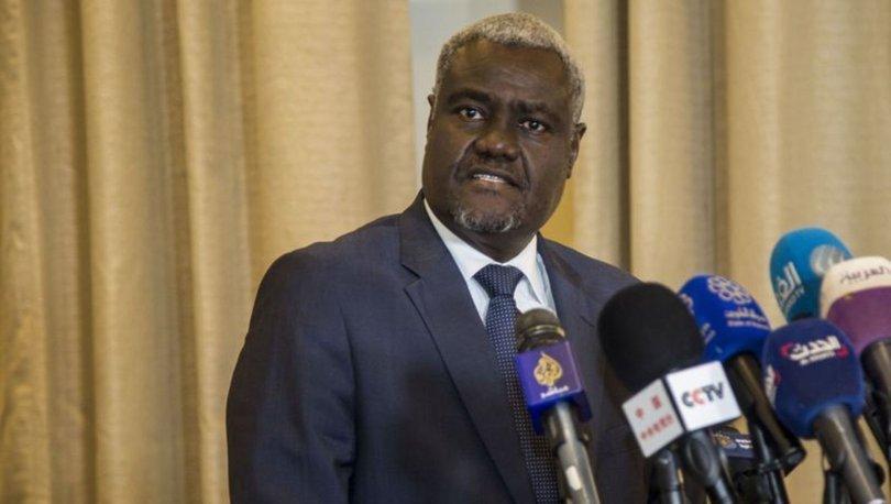 Afrika Birliği Komisyonu Başkanı Muhammed'e yapılan Kovid-19 testi negatif çıktı