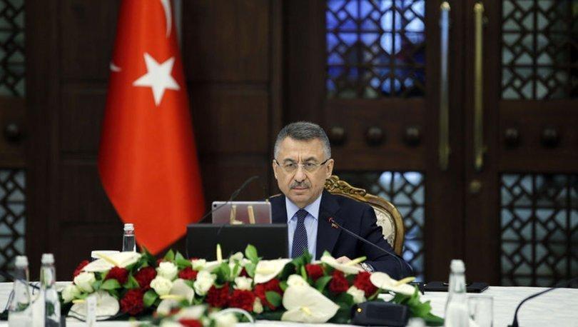 Cumhurbaşkanı Yardımcısı Oktay, Yozgat'ta karantina altındaki köyle ilgili bilgi aldı