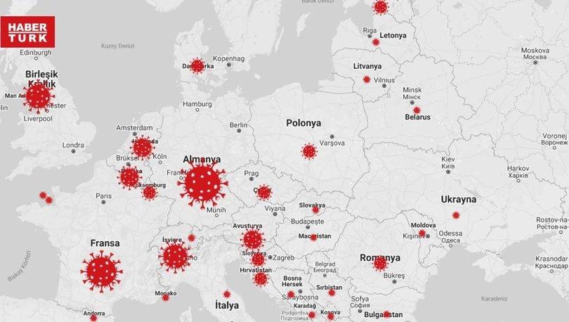 Corona virüs haritası CANLI 28 Mart 2020! Güncel koronavirüs haritası son durum: Coronavirus map live