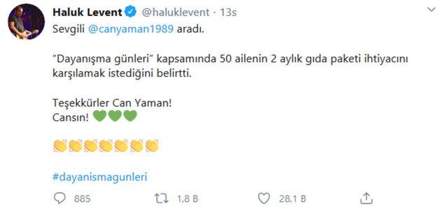 Haluk Levent çağrı yaptı, ünlüler harekete geçti - Magazin haberleri