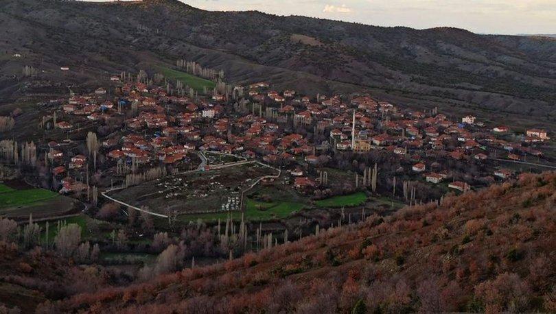 Yozgat'ta karantinaya alınan köye sessizlik hakim