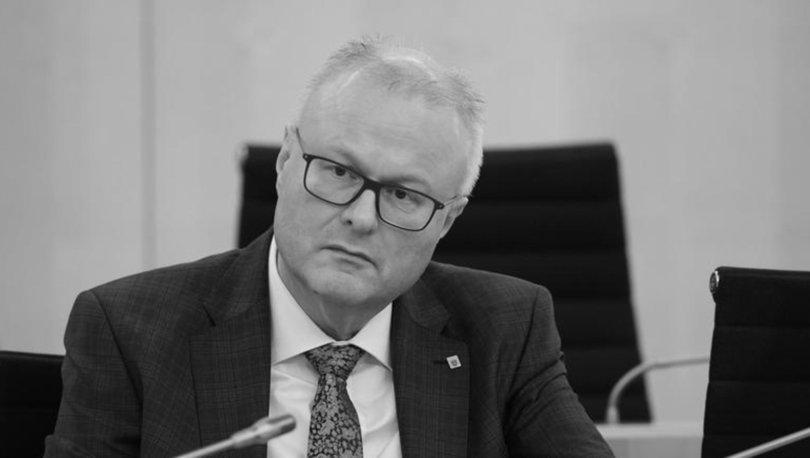 Almanya'da Hessen eyaletinin Maliye Bakanı Schaefer ölü bulundu