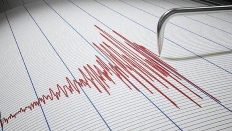 Son dakika haberi Manisa'da 4,1 büyüklüğünde deprem!